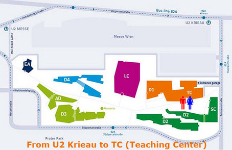 U2 Krieau to TC (Teaching Center)