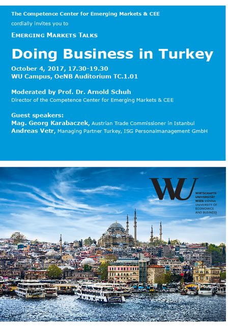 Invitation Doing Business in Turkey