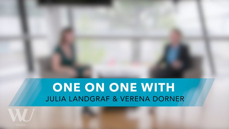 one on one with Julia Landgraf und Verena Dorner