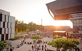 Summer feeling on Campus WU: A look back at this year's WU Summer Celebration