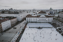 Ice skating in Vienna