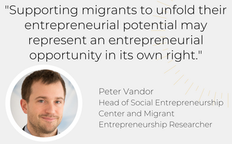 Peter Vandor Migrant Entrepreneurship