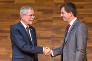 Bundespräsident Alexander van der Bellen und Harald Amberger (c)Pascal Riesinger