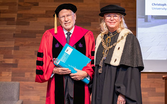 WU honorary doctorate for Frederick Schauer