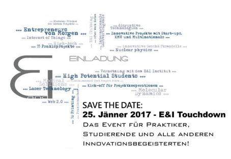 E&I Touchdown - SAVE THE DATE
