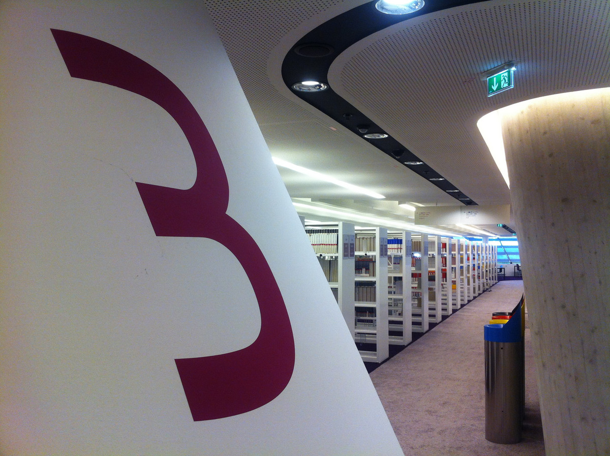 Wirtschaftsuniversität Wien Bibliothek Campus Studierende