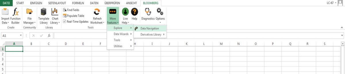 Wirtschaftsuniversität Wien: Bloomberg - Info - Datenbanken