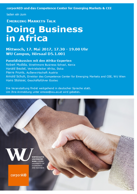 Invitation Doing Business in Africa