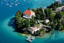 Woerthersee from above