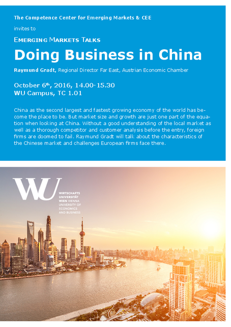 Invitation Doing Business in China