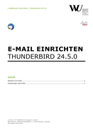 Mozilla Thunderbird (German only)