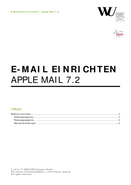 Apple Mail (German only)