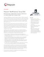 Polycom Group 500 Datasheet