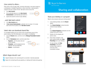 Skype for Business - Sharing & Collaboration