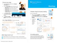 Skype for Business - Meetings