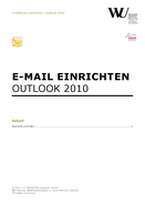 Microsoft Outlook (German only)