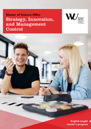 MSc Stra­tegy, Inno­va­tion, and Manage­ment Control