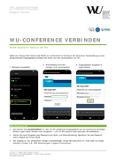 "Verbindung mit ""wu-conference"""