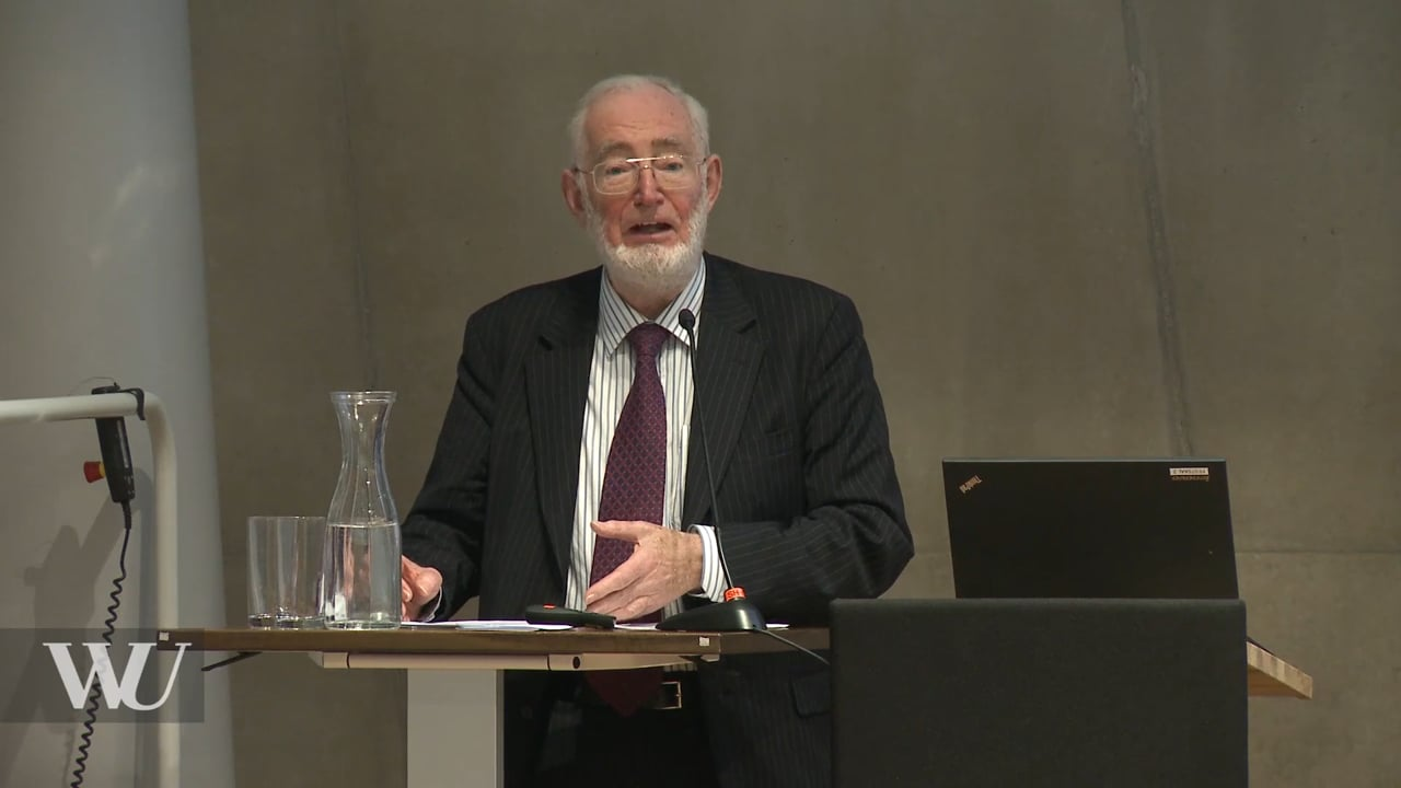 Video Sir Tony Atkinson