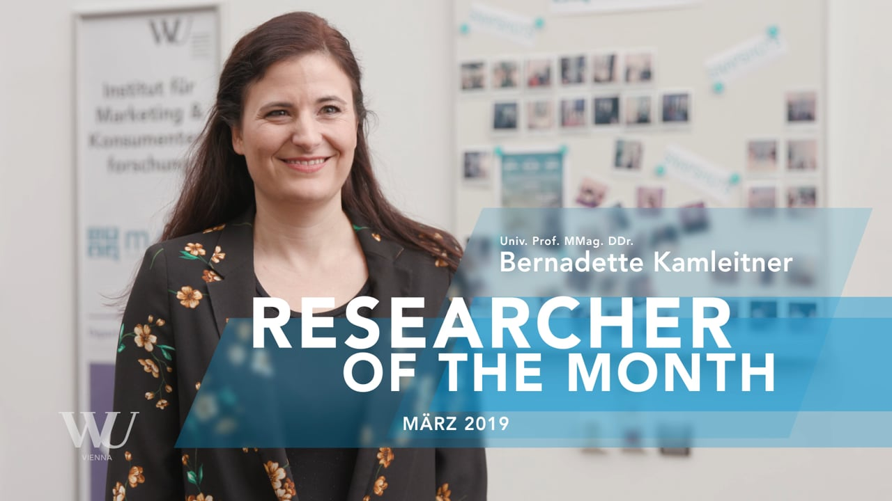 Video Bernadette Kamleitner
