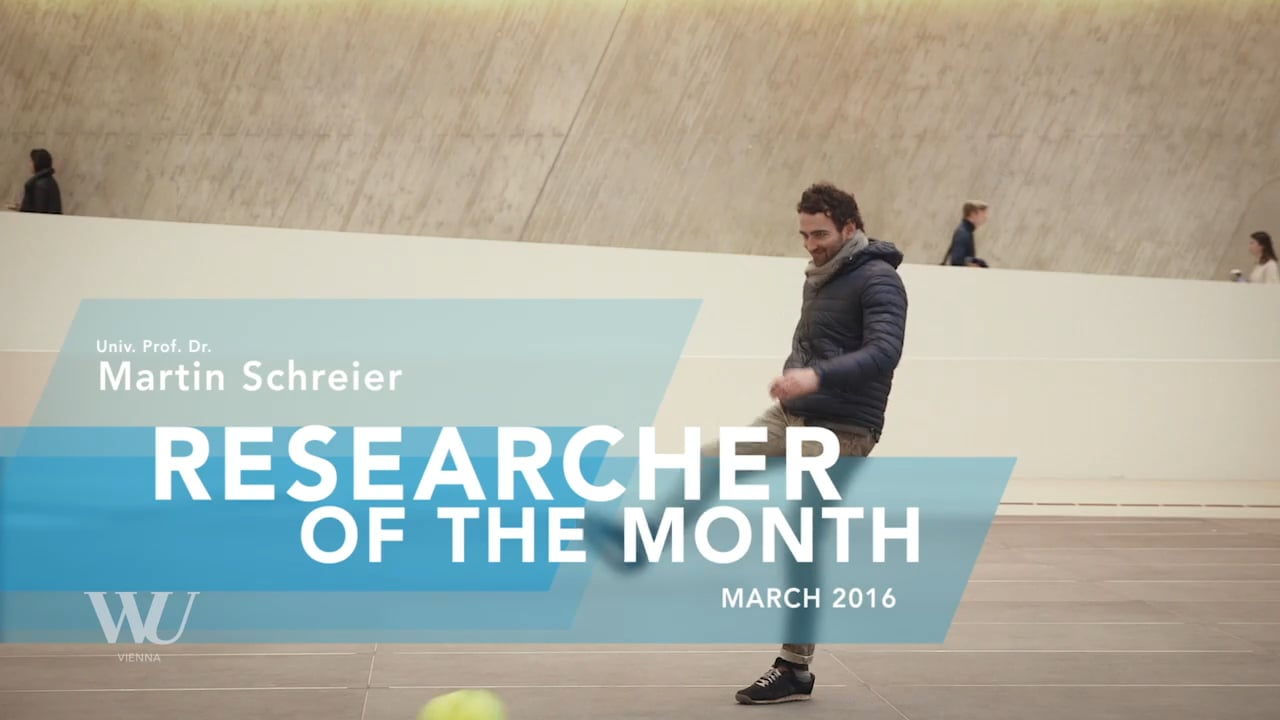 Video Researcher of the Month