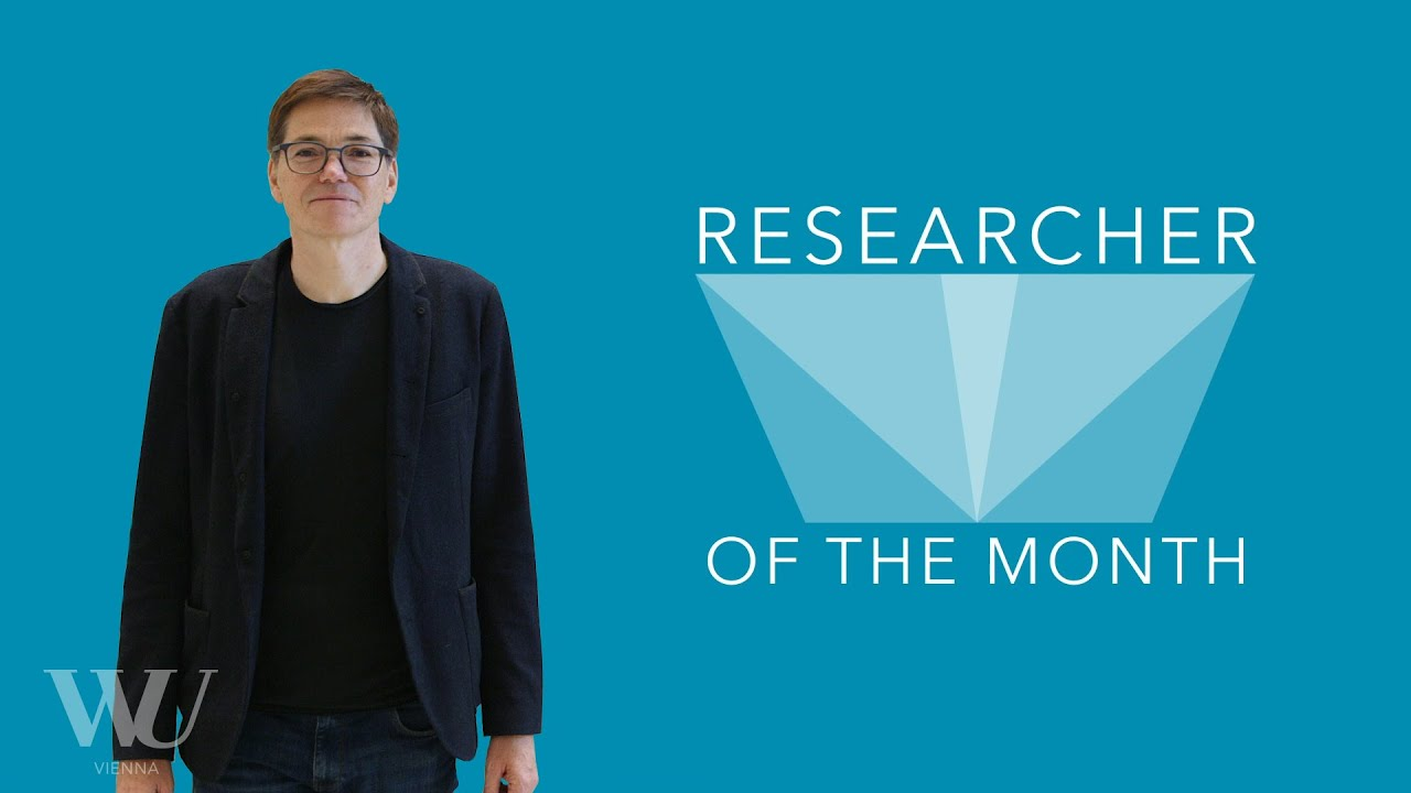 Video Rupert Sausgruber - Researcher of the Month - Dezember 2020