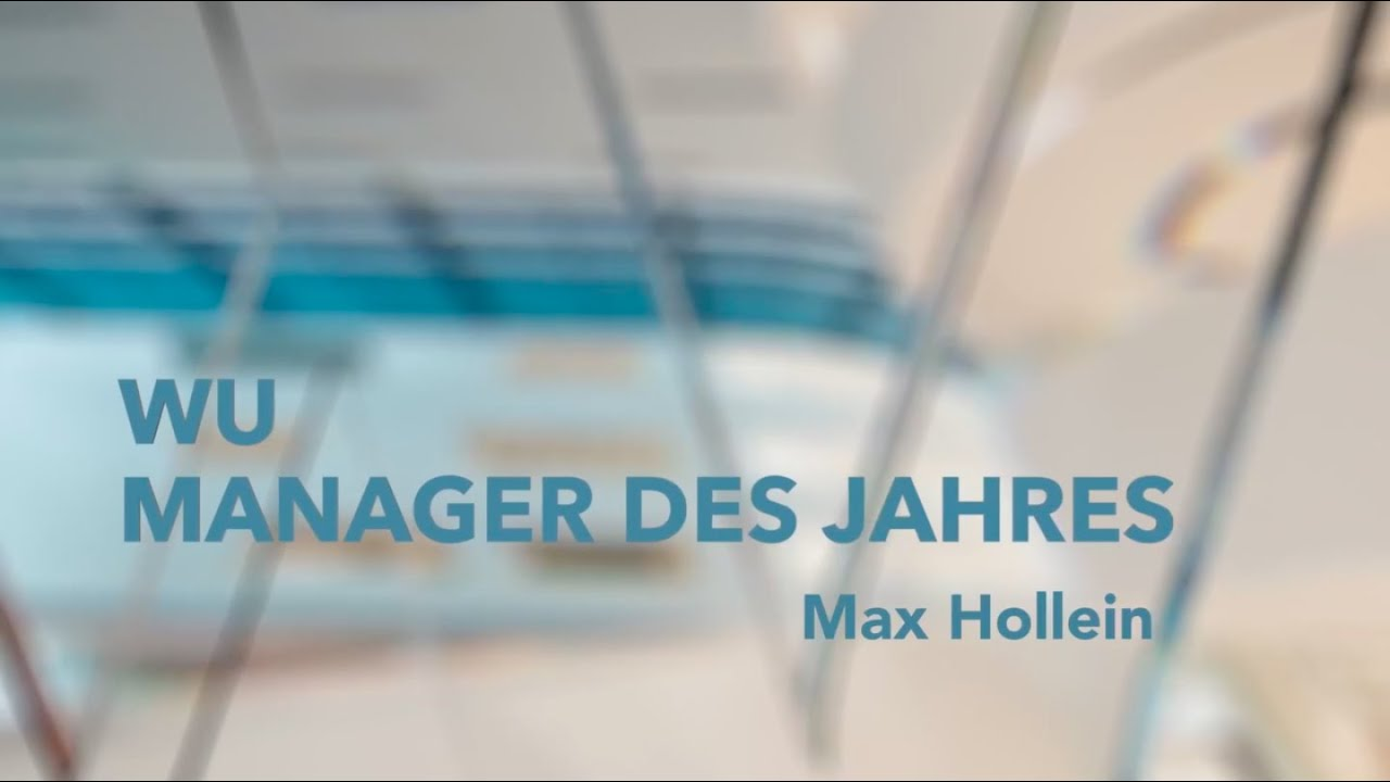 Video Verleihung an Max Hollein